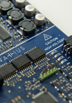 In-house developed BMS